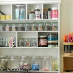 Cute Storage Ideas For The Craft Room Home