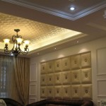 Dct Lrt Faux Leather Ceiling And Wall Tile Decorative Ceilin
