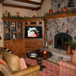 Decorate Corner Fireplace Entertainment Center Sweet Home Stone
