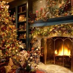 Decorate Real Christmas Tree Let Fly Far Away