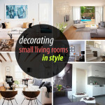 Decorate Small Living Room How