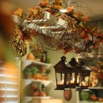 Decorating Autumn Leaves Using Fall Home Cor