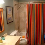 Decorating Bathroom Yourself Simple Curtain