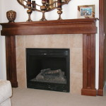 Decorating Fireplace Mantle Pictures Mirror Color