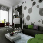Decorating Ideas Black And White Room Living