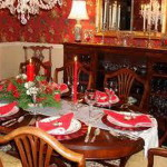 Decorating Ideas For Party Home Christmas Table