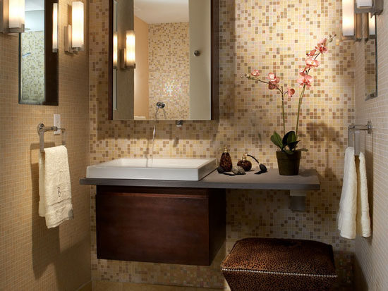 Decorating Ideas For Small Spaces Bathroom