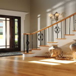 Decorating Ideas For The Floor And Ceiling Foyer