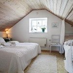 Decorating Ideas For White Attic Bedroom House Design Decor