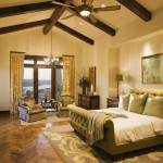 Decorating Ideas Mediterranean Bedroom Cream Color Scheme