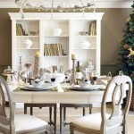 Decorating The Dining Room For Christmas
