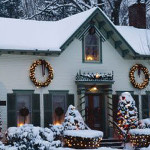 Decorating The Outside Their Homes For Year Holidays