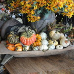 Decorating Tools Think They Look Their Very Best Fall Displays