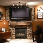 Decorating Your Fireplace Mantel Wall Stone Design