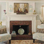 Decoration Fireplace Mantle Traditional Living Room