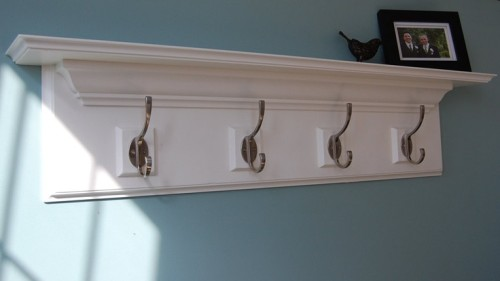 Decorative Wall Shelf Hooks Mantle Rack The Home Stretch
