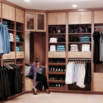 Design Collections Exciting Organized Walk Closet Ideas