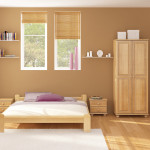 Design Ecological Bedroom Interior Retro Colors Listed