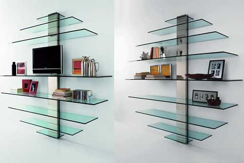 Design Home Interior Furniture Ideamultiart Glass Shelves