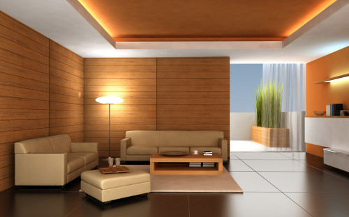 Design Images Modern Living Room Interior Exotic Lighting
