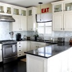 Design Inspiring Kitchen Room White Theme