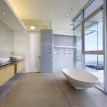 Design Kanner Architects Oakland House Master Bathroom Interior