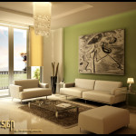 Design Living Room Green Rudy Listed Extraordinary