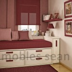 Design Red White Small Room Space Saving Designs For Little