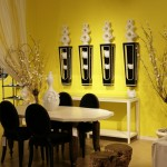 Design Wall Represents Your Personality Yellow Interior Ideas