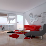 Design Your Furniture Online Red Sofa