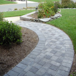 Designed Paver Stone Pathways Picture Expands Your Sense Outdoor