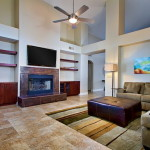 Designing The Living Room Along Colors Contemporary Style