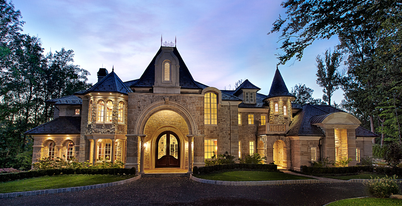 Designs Blueprints For High End Luxury Estate Traditional Dream Homes