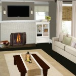 Designs Contemporary Living Room Fireplace Smart Virtual