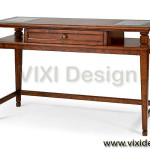Desk Table Colonial Style Classic Furniture Luxury