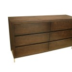 Diamond Low Chest Bedside Table Occasional Sunshine Coast