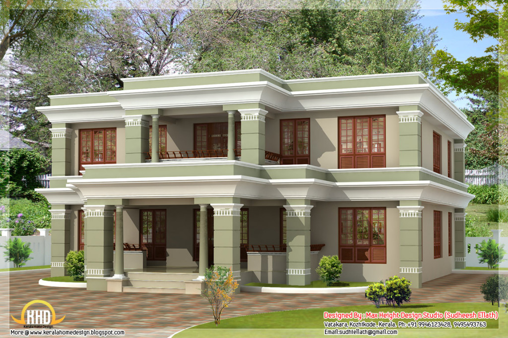Different Style India House Elevations Kerala Home Design And