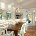 Dining Modern Twist Cottage Style Home For The