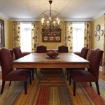 Dining Room Rugs Decorating Enhance The Quality
