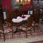Dining Room Use Rug Large Enough Allow The Chairs