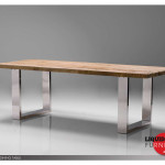 Dining Tables Provence Table Reclaimed Solid Pine Wood Top