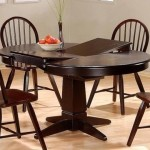 Dinner Table Design Cappuccino Finish Wood Dining Room