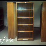 Diy Old Bookshelf Facelift Life Accordinglee