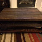 Diy Pallet Coffee Table Storage Space And Miscellaneous