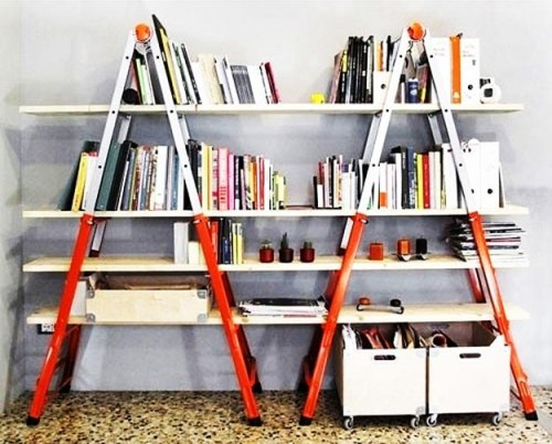 Diy Shelving Ideas Recycling And Saving Money Interior