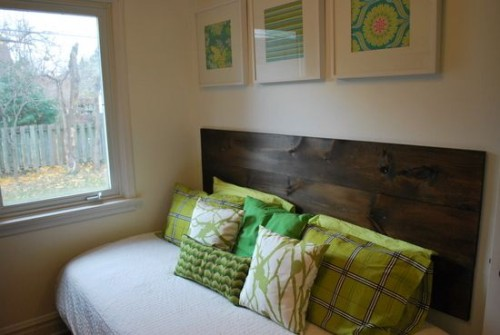 Diy Wood Headboard Bedroom