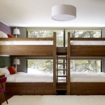 Double Bed Staircase View Shape Elegant Wooden House Design