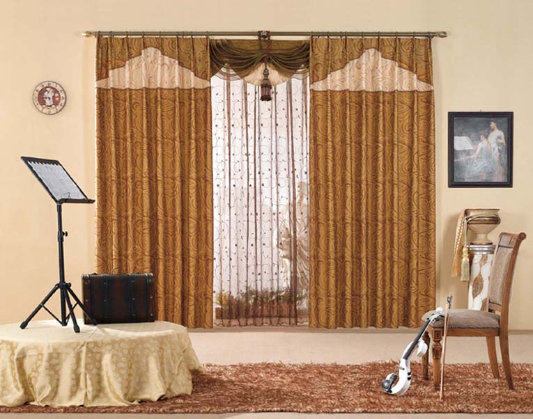 Drapes And Curtains Pastel Shades Create Certain