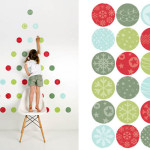 Dreams And Wishes Space Saving Christmas Tree Decals