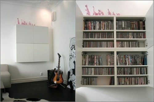 Dvd Shelving Ideas White Furniture Design Graph